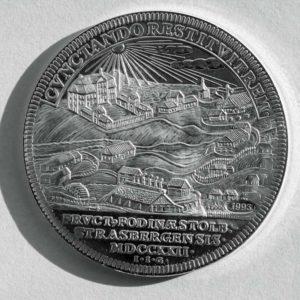 Alte Münze Stolberg, Ausbeutetaler Rückseite