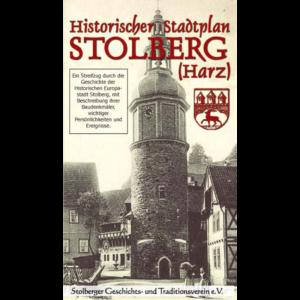 Historischer Stadtplan Stolberg (Harz)