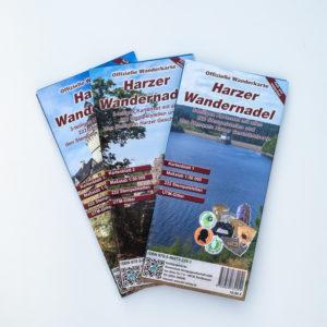Offizielle Wanderkarte Harzer Wandernadel